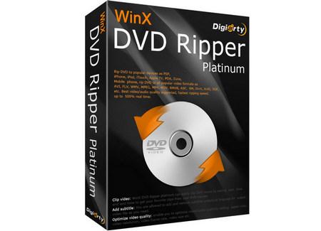 WinX DVD Ripper Platinum Pro Crack